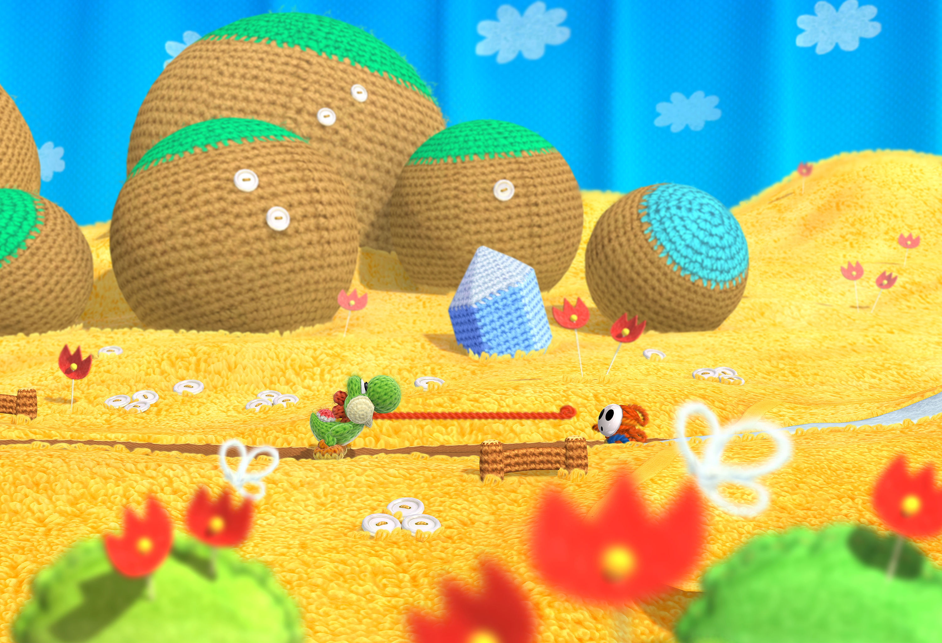 Walkthrough  Yoshis Wooly World Wiki Guide  IGN