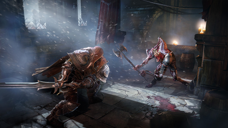 Lords of the Fallen Sword Attack