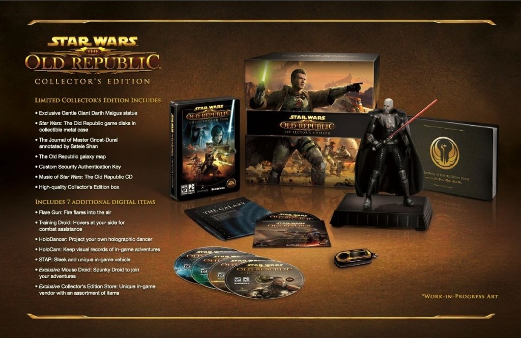 Star Wars The Old Republic Colelctor's Edition