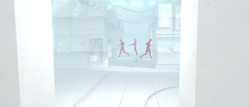 Superhot is reminiscent of The Matrix