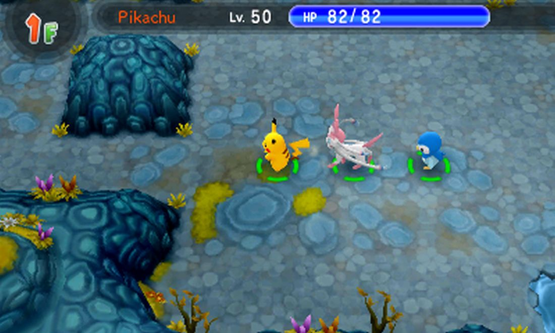 Super Mystery Dungeon party