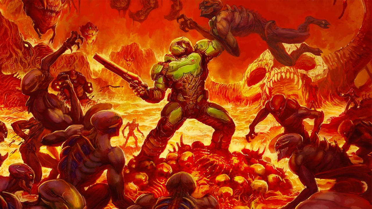 Top 10 Demon-Killing Games Doom Image
