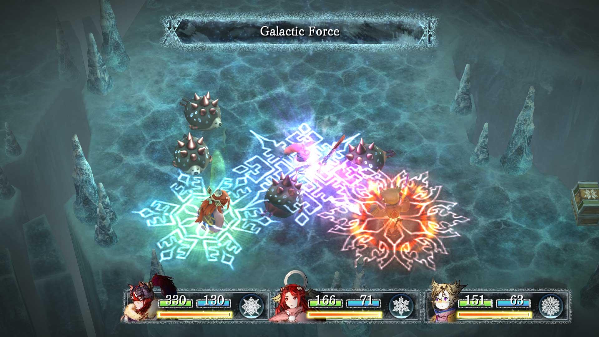 I am Setsuna battle