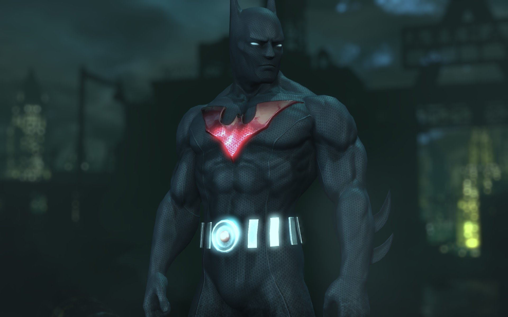 picture this batman beyond arkham