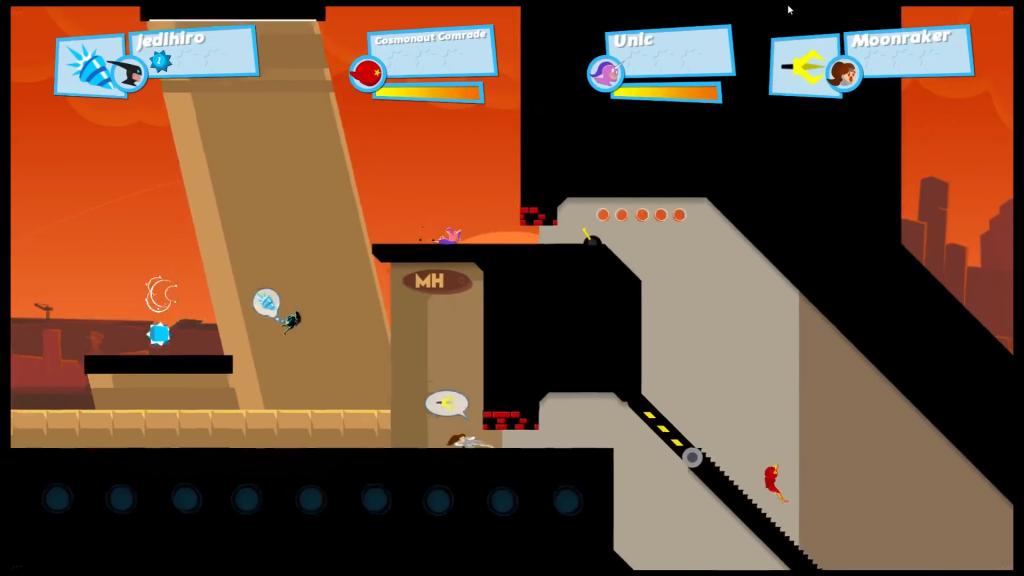 Speedrunners Review Screen Shot