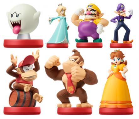 Mario Party Star Rush Amiibos