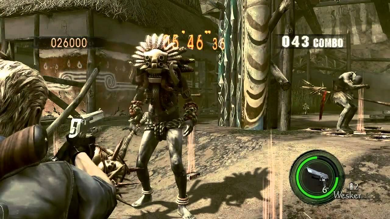6 Games I Couldn't Finish Resident Evil 5 Image