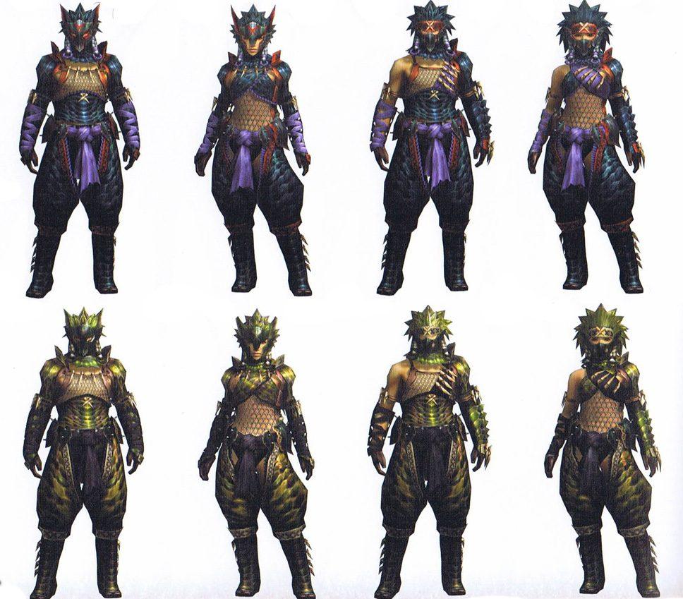 MH Armors