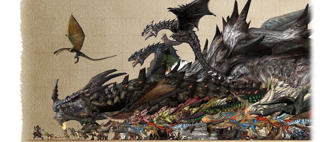 Top 10 monsters from monster hunter for Decoration list monster hunter world