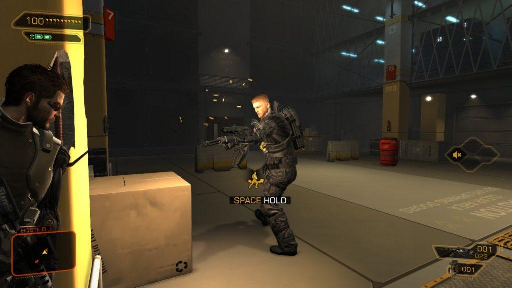 Deus Ex HR Barrett Boss