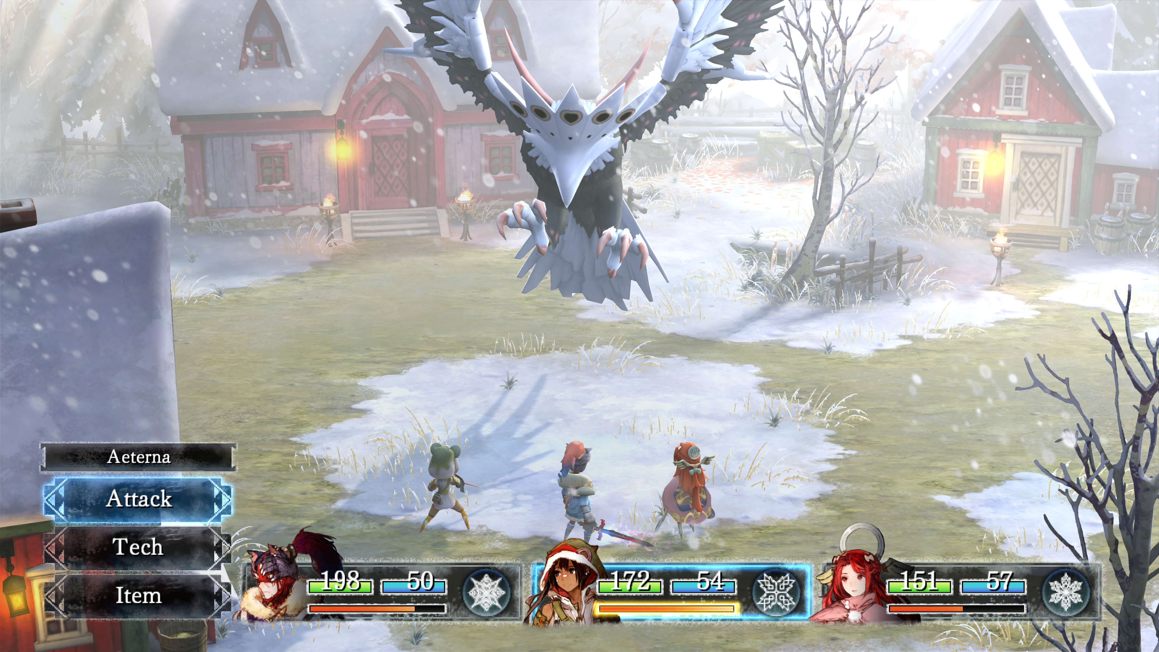 I am Setsuna First Boss
