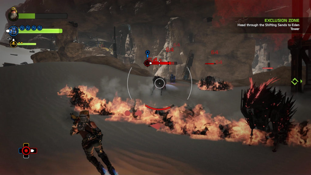 recore-combat-red