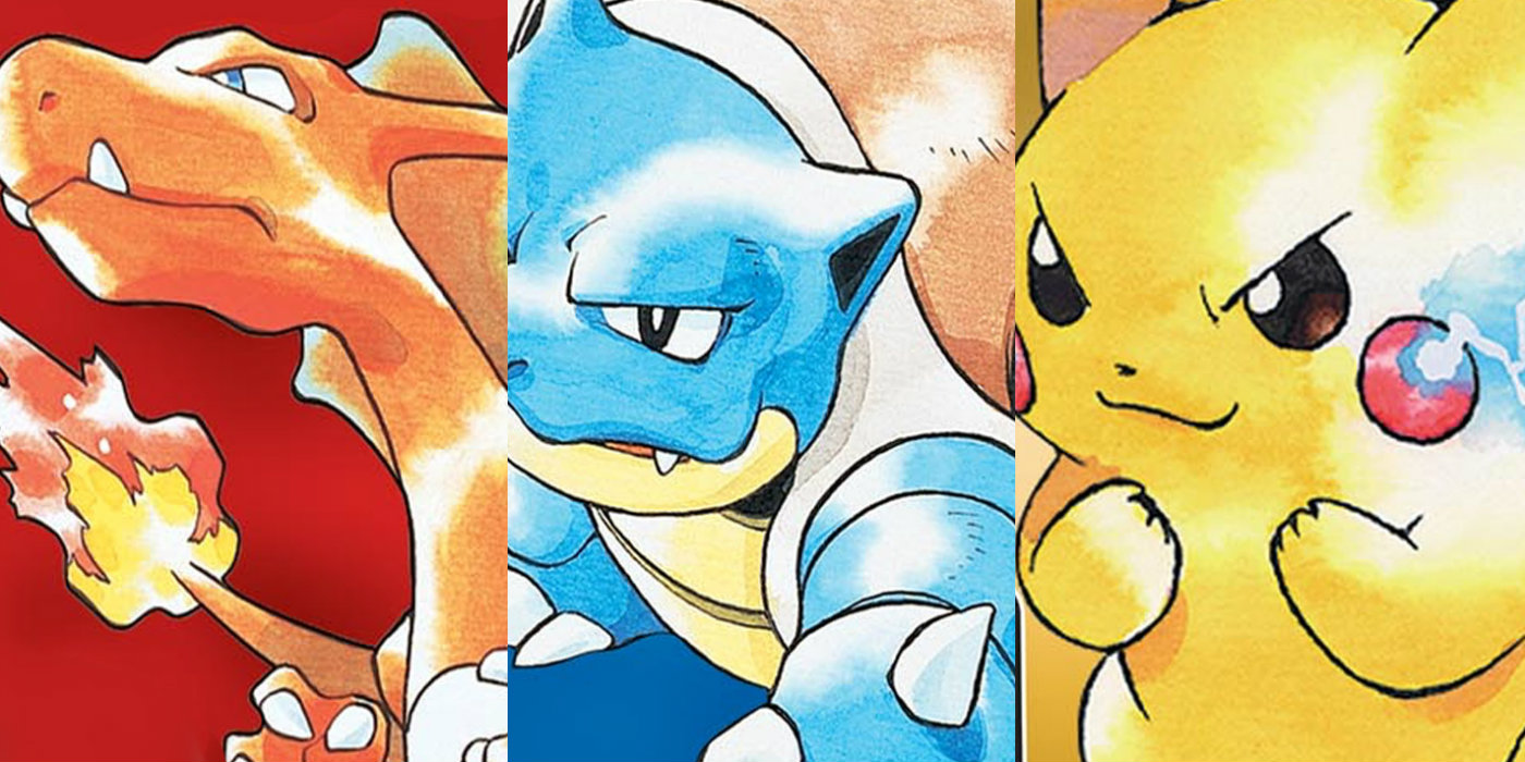 Image result for red blue yellow pokemon