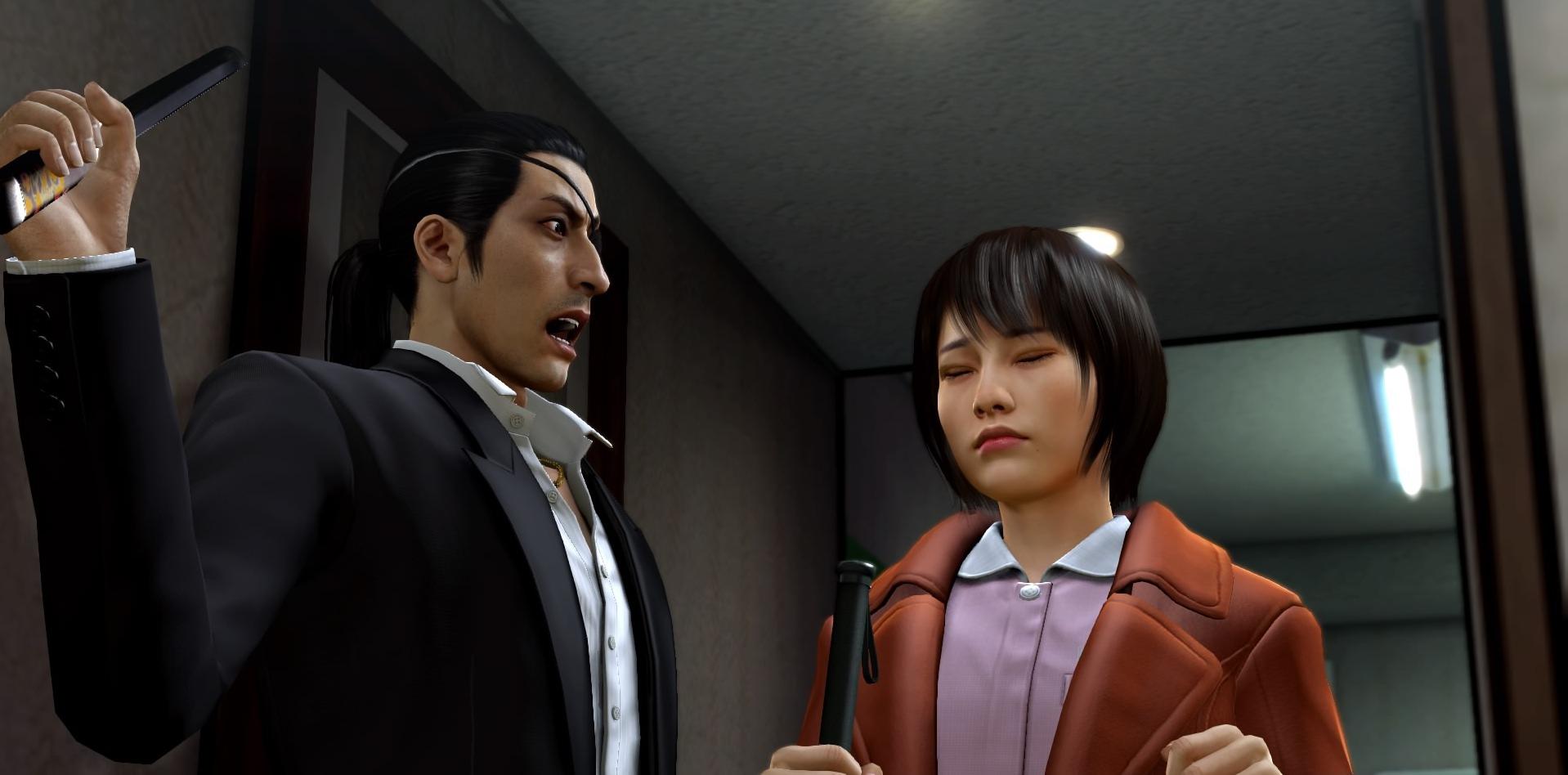 Goro Majima master assassin of Yakuza 0