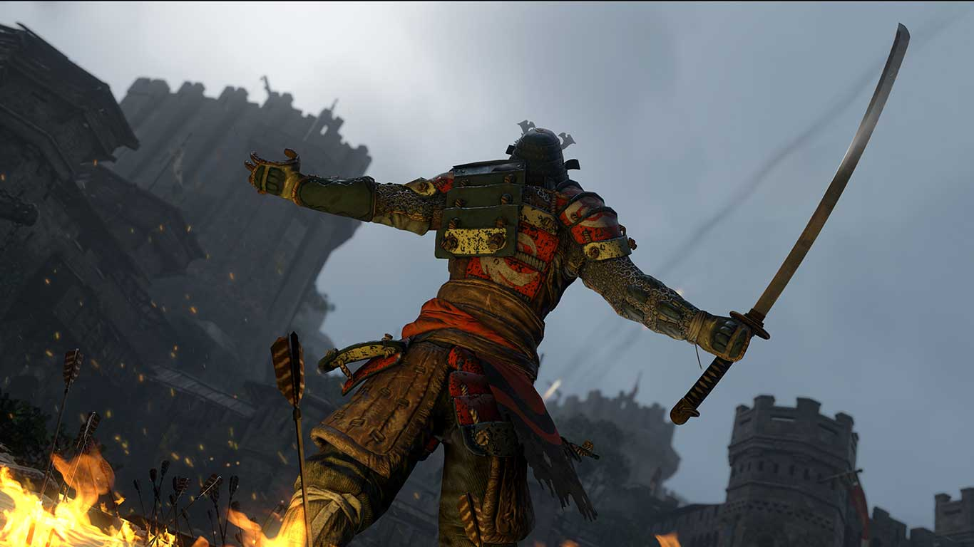 Are you not entertained by the Samurai of For Honor.